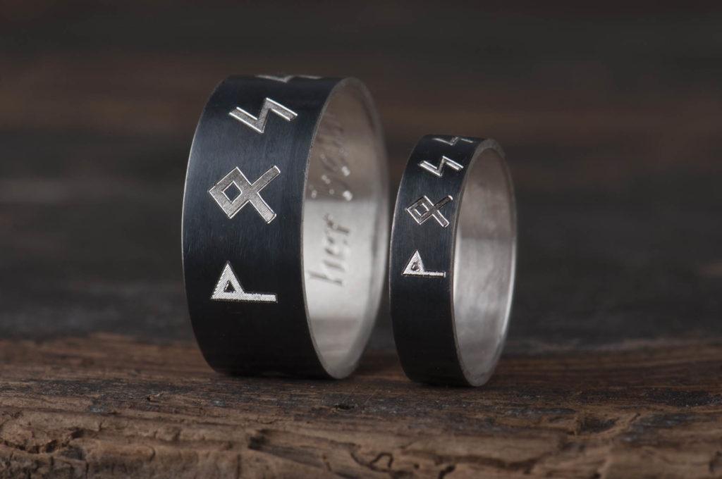 spersonalizowana biżuteria z runami