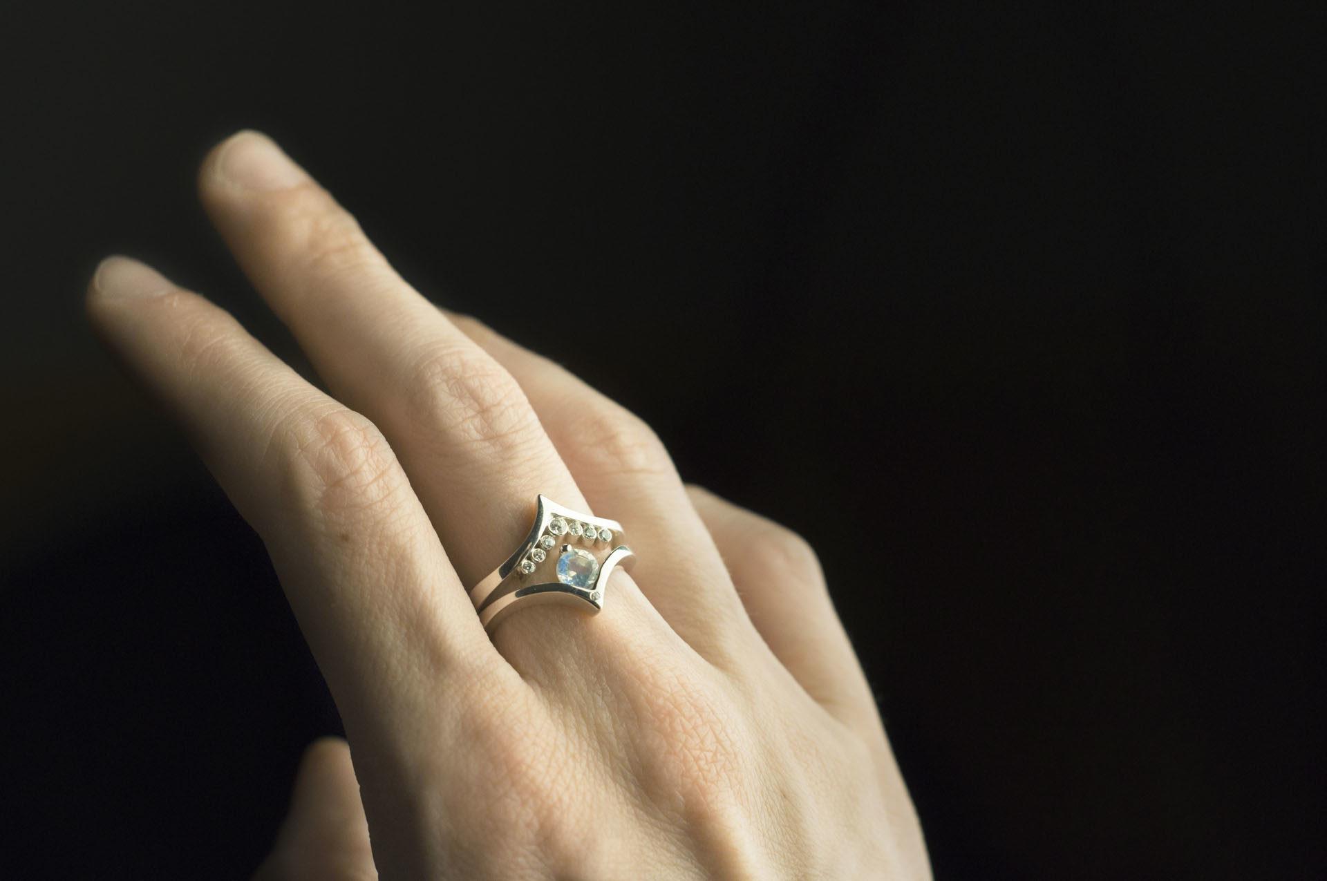 pierścionek modułowy
