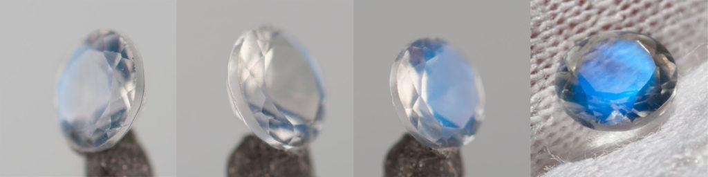Niebieski kamień skiężycowy