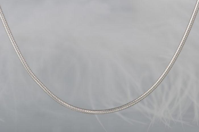 łańcuszek srebrny linka