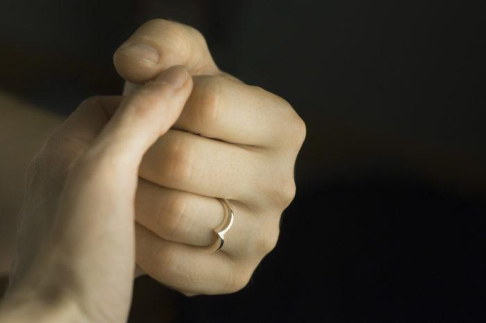 nietypowa obrączka ślubna