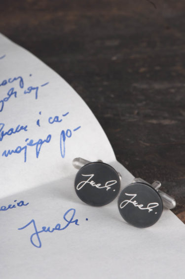 Biżuteria z pismem