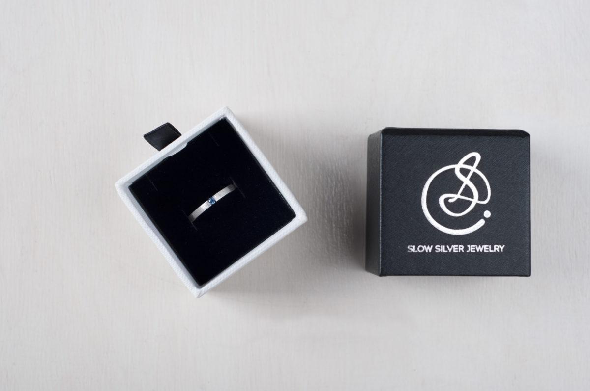 pudełko napierścionek